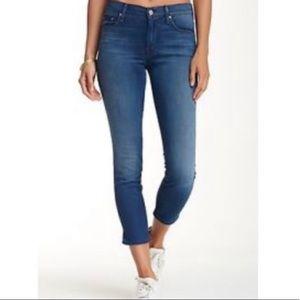 Mother Jeans Crop Runaway Northern Lights - 31